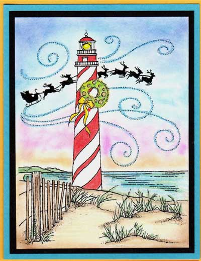 Lighthouse Acetate Card Set - Click Image to Close