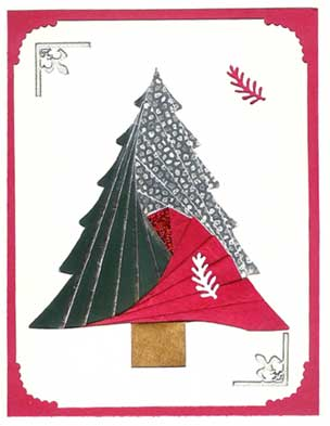 Image result for iris folding christmas
