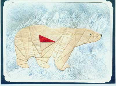 Polar Bear - Die Cut Package - Click Image to Close