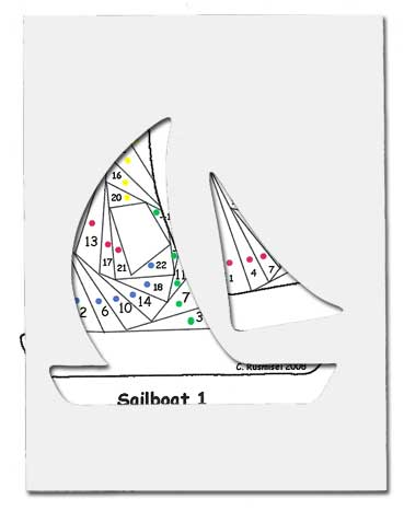Designer Dress Patterns on Sail Boat   Die Cut Package  Dcp Sail Boat     3 75   Of The Heart